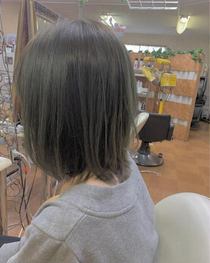 🌸髪のぱさつき&髪質改善クーポン🎀カット+艶感カラー+サラマックス🍒+4ステップ補修トリートメント💕
