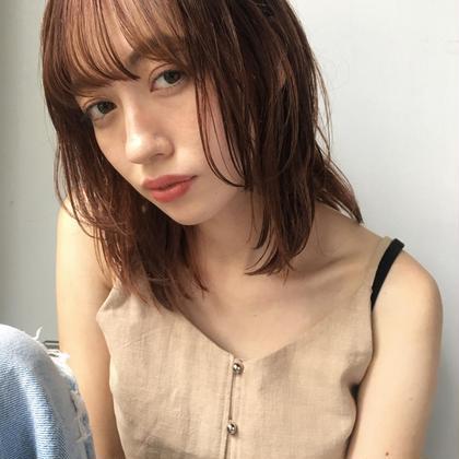 ✅【再来2.3回目のご来店】前髪カット & 透明感カラー&トリートメント