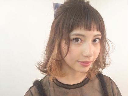 先日、名古屋で行われたセミナーで、メイク担当させて頂きました Cafune by Garland所属・田中稜也のスタイル