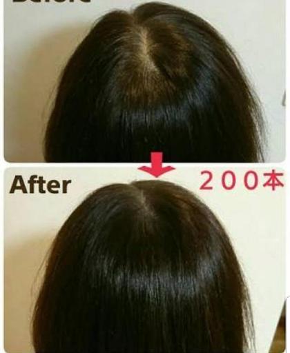増毛エクステ200本