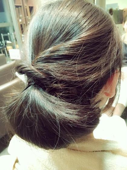 ツヤのあるまとめ髪スタイル! 新しいアレンジも考えております! SARAJUhair所属・峯口弘憲のスタイル
