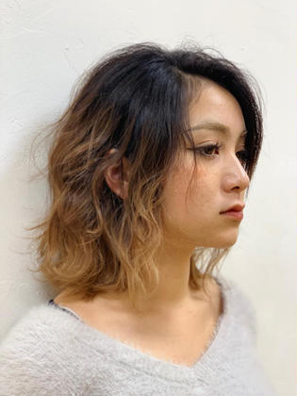 Ash 瑞江店所属の少路優希のヘアカタログ