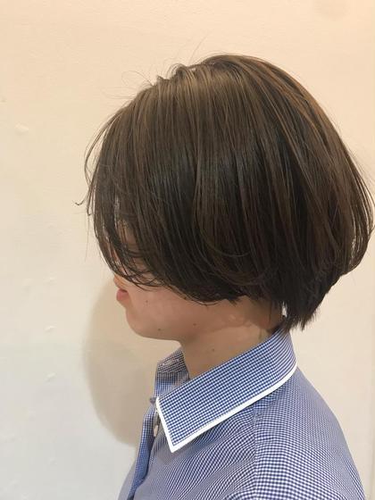 GLAD natural hair所属・河田海陽のスタイル
