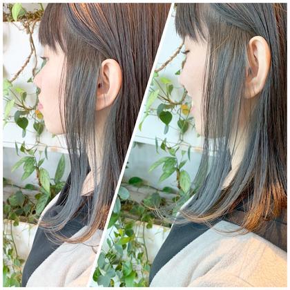 #アオハル【透き通るような髪色へ】💐イルミナカラーorアディクシーカラー+髪質に合わせて選べるトリートメント💐