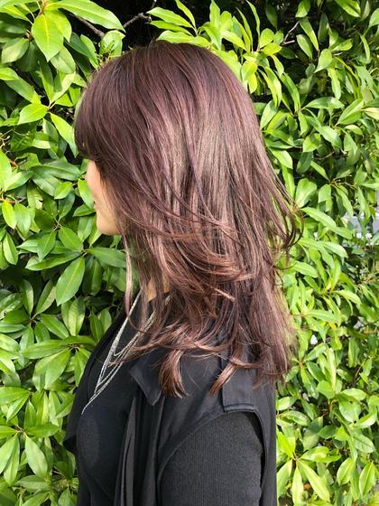 ⦅今だけ限定★オフ率60%以上❣️⦆カラー+ 高濃度スチームトリートメント+ ヘッドスパ + 前髪カット