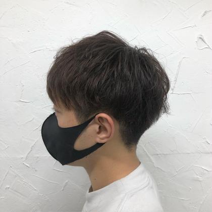 👦🏻メンズカット+シャンプー+眉カット