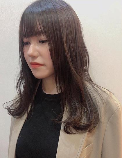 💜前髪カット➕透明感カラー➕シャンプーブロー💜