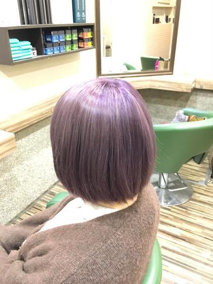 ラベンダーピンク ブリーチ3〜4回 Hair Salon Be-one所属・タナカリクのスタイル