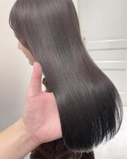 ✨圧倒的なツヤ髪に✨カット+カラー+プリンセストリートメント #髪質改善#韓国#ハイトーン