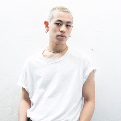 岩泉元治のメンズヘアスタイル・髪型