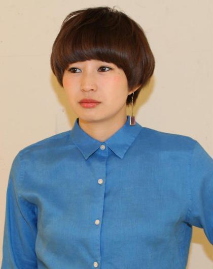 どんな服装にもマッチするカジュアルショート hairSUNDY所属・ヤスギエリコのスタイル