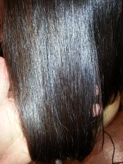 ダメージケアをしながら栄養成分と水分を補充しながらカラーをします。 繰り返すごとにツヤ髪がキープされます。 アッシュブラウンカラー