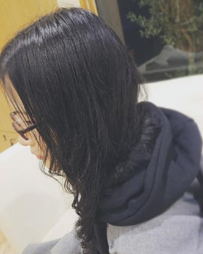 💛ホット系パーマ+カット💛ロング