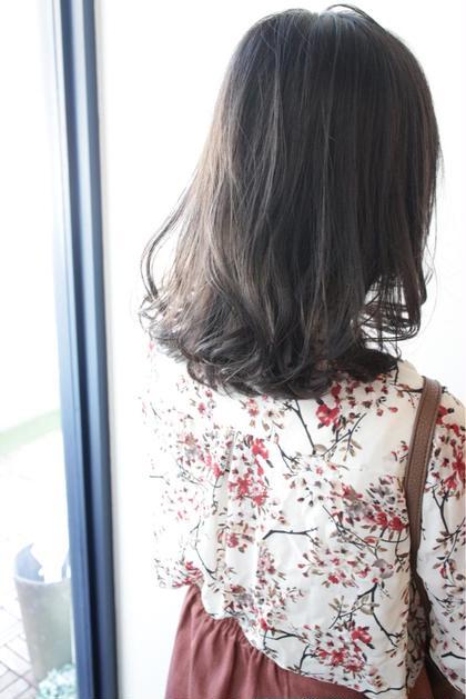 赤みが嫌いな方に特にオススメ!色落ちしても赤みが出にくいです😊トリートメントでしっかりケアして美髪目指しましょう♪
