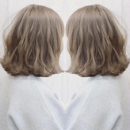 中田美希のショートのヘアスタイル