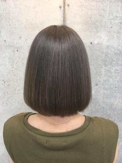 髪質改善💫酸熱トリートメント+毛先のメンテナンスカット