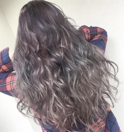 【全員】 ダブルカラー ハイライトも有トリートメント付♡色をぬいて♡好きなアディクシーカラー被せます♡黒髪さようなら♡