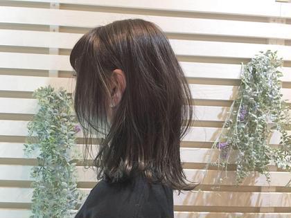 【人気メニュー】カット+透明感カラーor地毛風カラー(ナノスチーム+アフタートリートメント1種付き