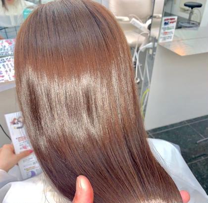 【髪質改善導入( ⸝⸝⸝ᵒ̴̶̷ωᵒ̴̶̷⸝⸝⸝)💗💗】髪質改善カラー😆🙌🏻💗