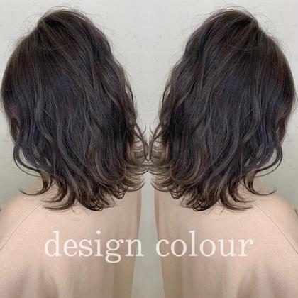 デザインカット & ツヤ髪カラー & カクテルトリートメント💫