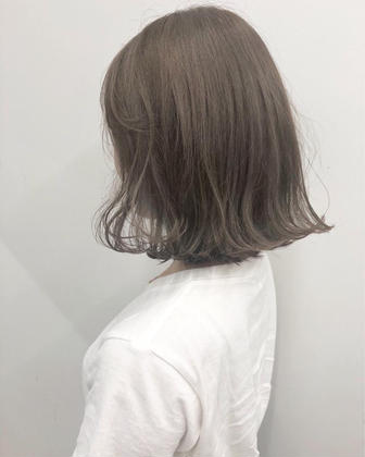 カラー 🌿creamy graige🌿  1bleach × color