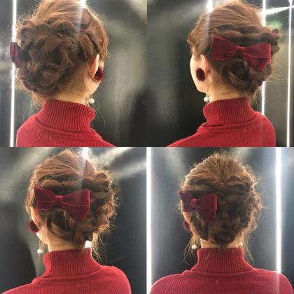 編み込みヘアアレンジ✨ ookuboYuukiのヘアアレンジ