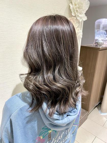 👩🏻🎓学割U24👩🏻🎓❣️透明感美髪カラー+プチトリートメント☘️
