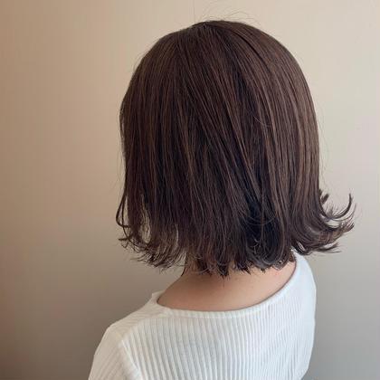 【何度でも🆗】ブリーチ不要で今旬な髪色へ🍇🦋 ダメージも気にならない!  透明感たっぷりある暗髪カラーが大人気💡