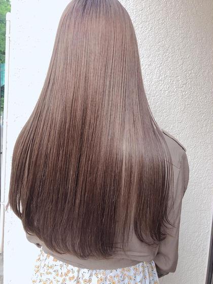 ナノストレートor縮毛強制❤️+炭酸トリートメント《ナチュラルにしっかり癖のばして潤いのある髪へ》3ステップTR❤️