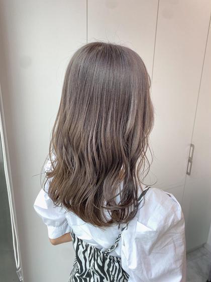 ☁️カット+カラー+髪質改善トリートメント+炭酸sp☁️普段のお手入れはこちらのメニューがおすすめ⭐️👌