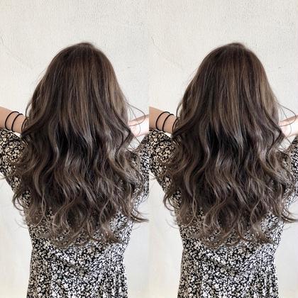 ✨+で髪質改善も✨イルミナカラー+髪質改善集中トリートメント