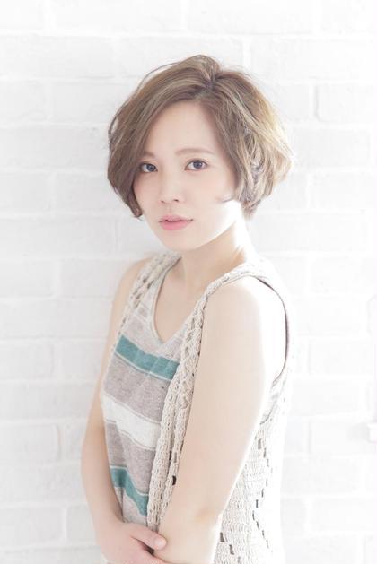 大人可愛いショート♡ Hair Salon Sorcier所属・笠木映李のスタイル