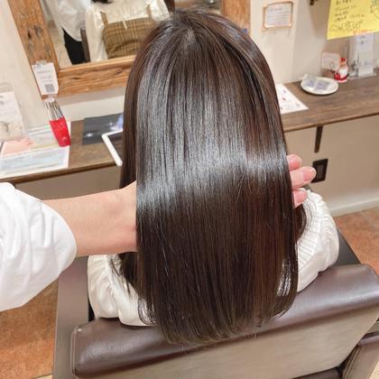 1日1名限定【ミディアム】艶髪美髪矯正コース(カット無し)