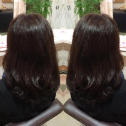 暗めカラー✄くすみ感を活かしたスタイル hair styling room butter所属・渋田幸恵のスタイル