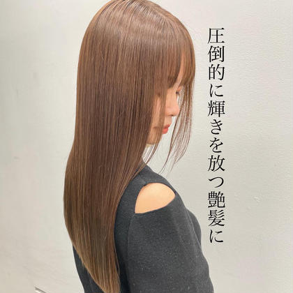 🉐平日のみ【髪質改善】🌈オリジナル髪質改善トリートメント🌈ケアカラー