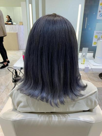 🍇人気No.1🍠カット+カラー+Aujuaトリートメント
