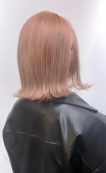 🌈✨満足度No.1✨🌈ブリーチしても最高の艶髪を🌈カット+カラー+ケアブリーチ+集中補修トリートメント🌈