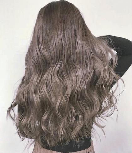 【驚異の毛髪修復率!】痛まないけど透明感!ファイバープレックスカラー(全体フルカラー) &ヘアケミストMOトリートメント
