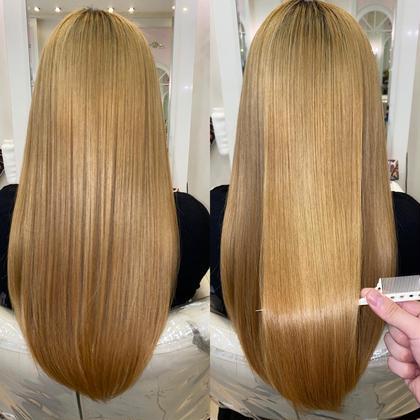ブリーチ毛でもできる話題の 髪質改善縮毛矯正