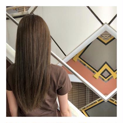 【透明感ある髪色へ✨】高級イルミナorアディクシーカラー&3stepトリートメント&炭酸ケア