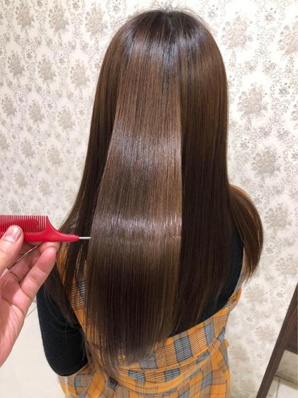 最高級髪質改善トリートメント+ナノミスト+内部補給トリートメント3回分チケット✨