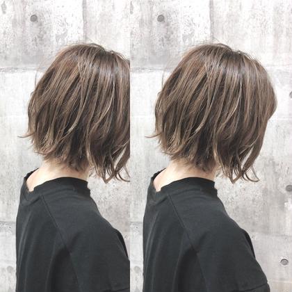 ツヤ感・透け感カラー & TOKIOトリートメント&カット