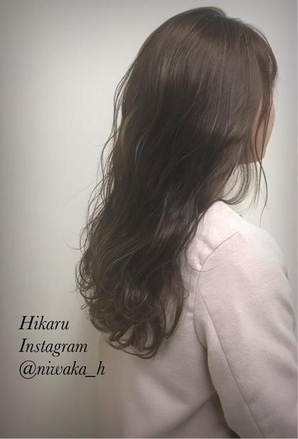 【セットメニュー】前髪カット+フルカラー【コテ巻き付】