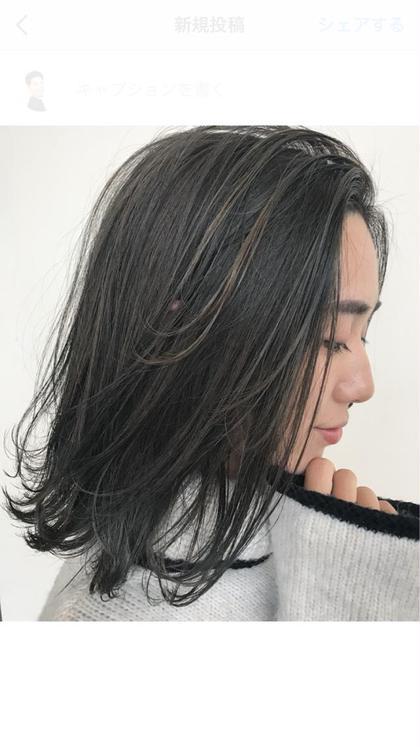 【再来店】カット+イルミナカラー外国人風ハイライト+髪質改善★5stepトリートメント