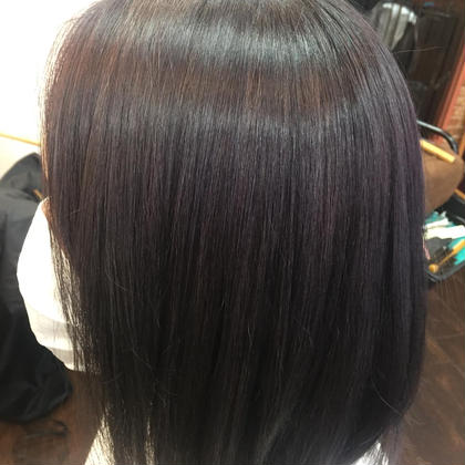 暗髪染め(黒染め)& トリートメン付き茶髪戻し ブラックグレージュブルーグレージュアッシュグレージュラベンダーグレージュ