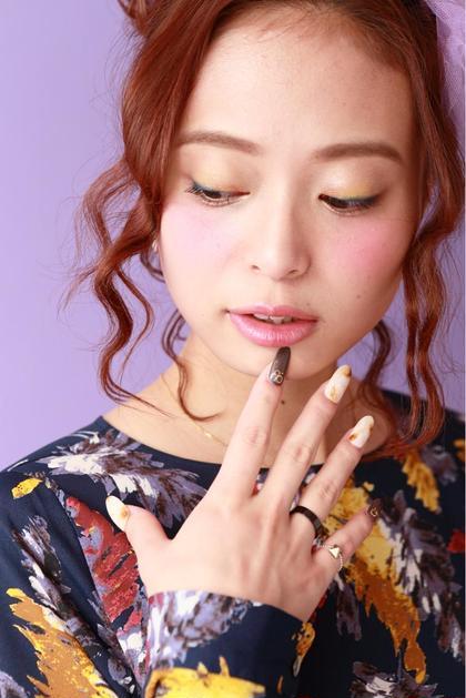 ピンクベージュ gelire creative hair所属・太田翔のスタイル