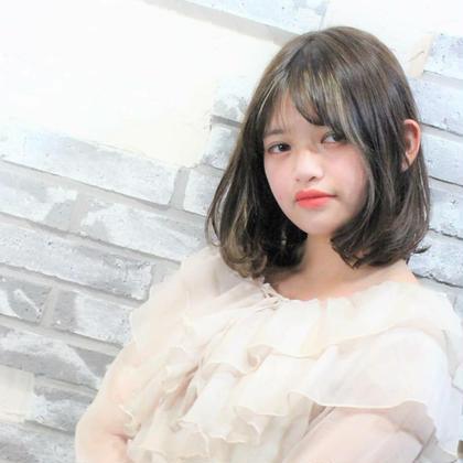 【頭皮のご褒美❗】カット &オージュア ヘッドスパ(新規)
