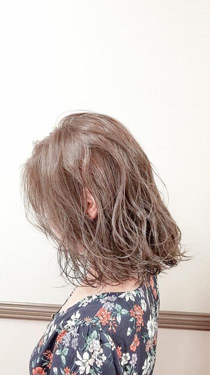 ✔️人気No1✨似合わせカット&外国人風イルミナカラー&プラチナコラーゲントリートメント(白髪染めも可能)✨