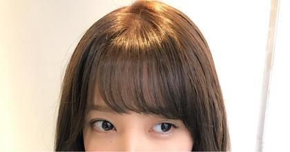 セミロング れなっち前髪