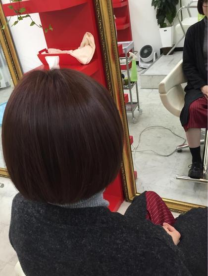レッドブラウン☆イルミナカラー☆ arp所属・天羽康寛のスタイル